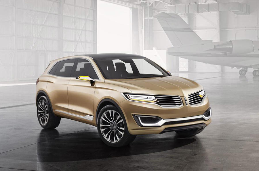 New Lincoln concept marks China launch