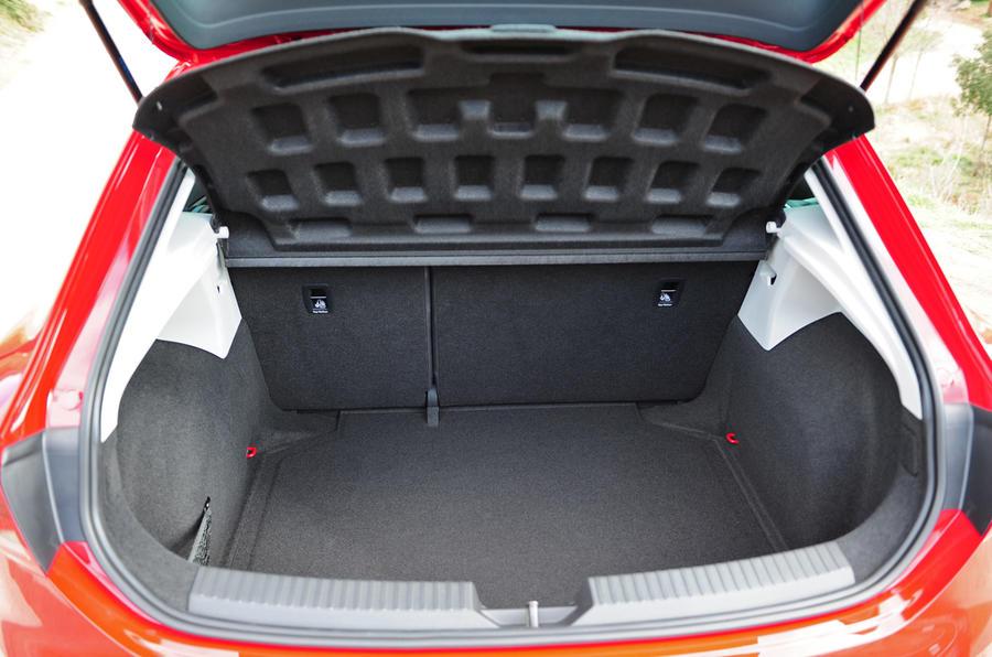 Seat Leon SC boot space