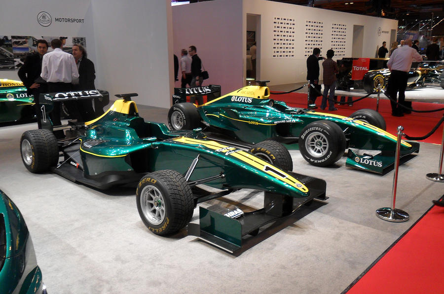 Lotus shows six new racers