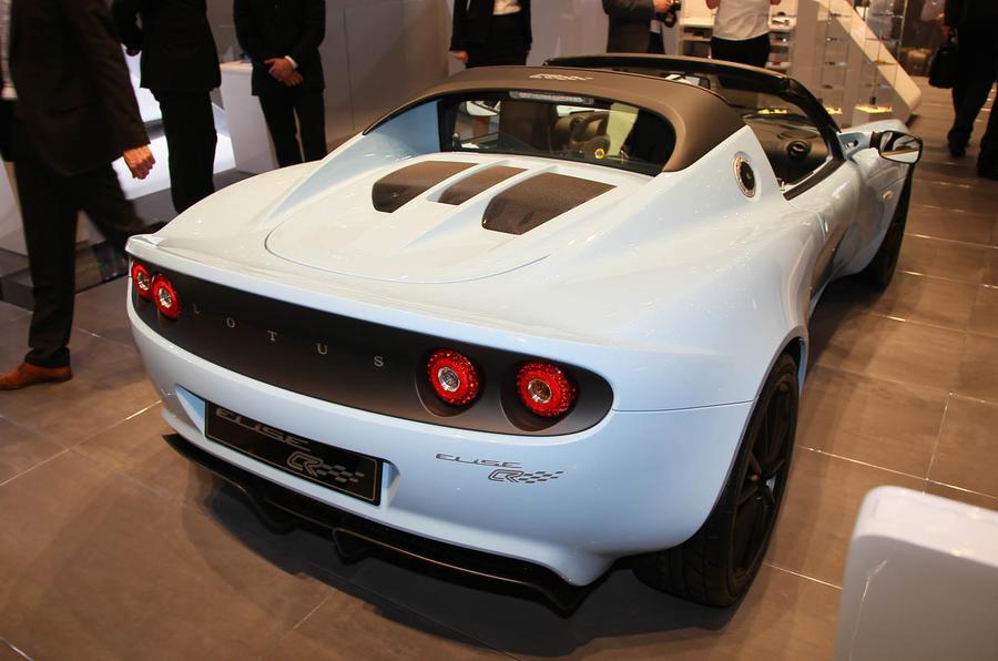Geneva show: Lotus Elise Club racer
