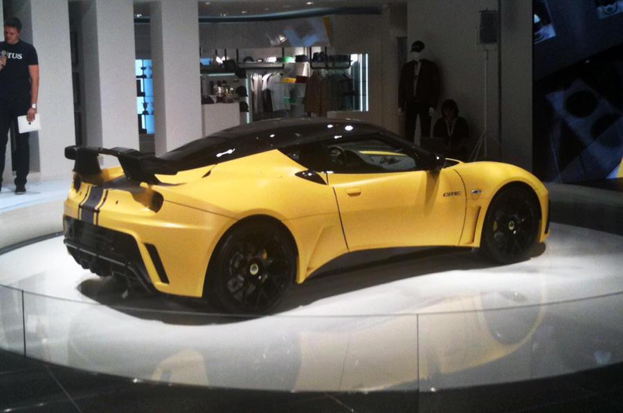 Frankfurt show - Lotus Evora GTE