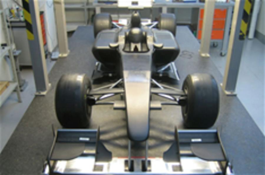 Lotus F1 car in hi-res