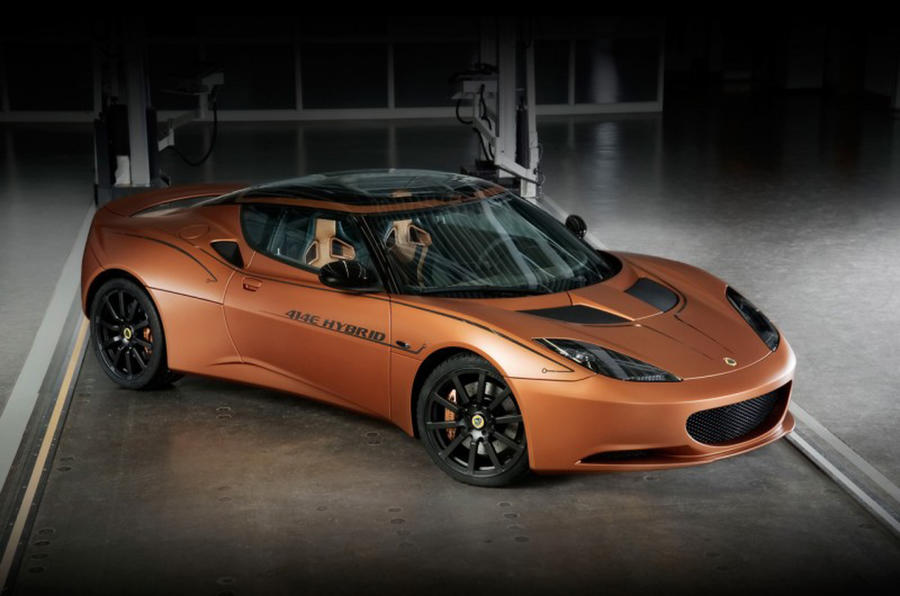 Geneva motor show: Lotus Evora hybrid