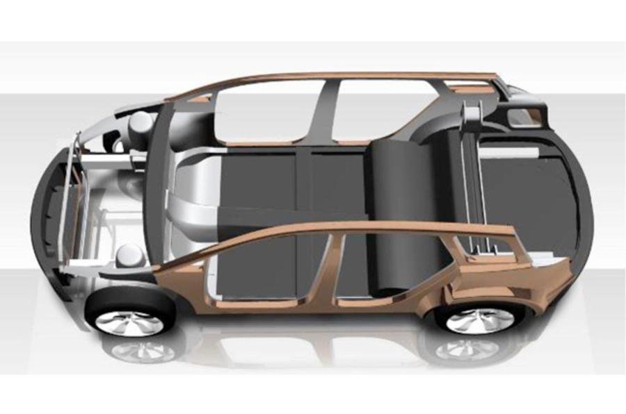 Lotus reveals lightweight concept