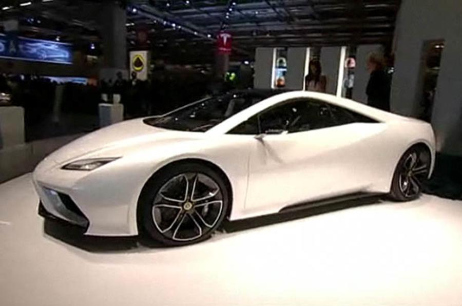 Paris motor show: Lotus Esprit