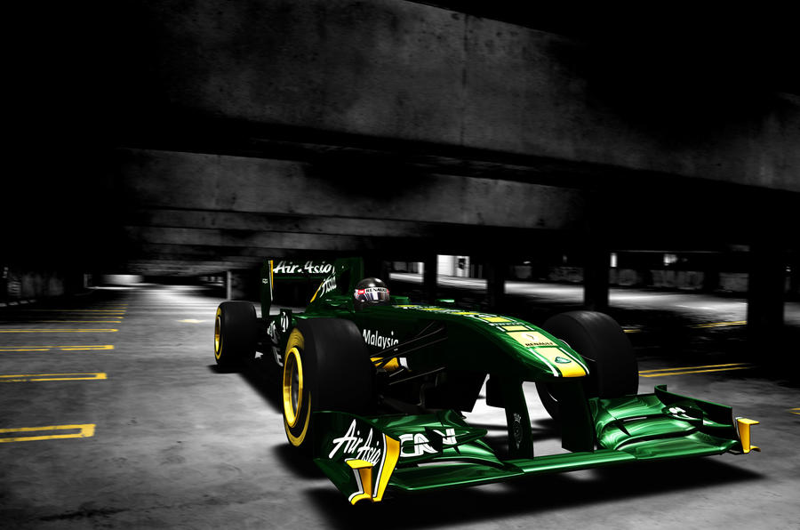 Team Lotus launches new F1 car