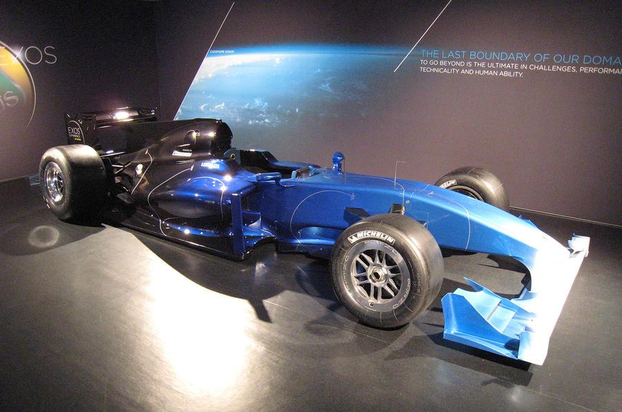 Lotus's £650k F1 special - new pics