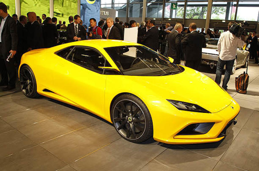 Paris motor show: Lotus Elan