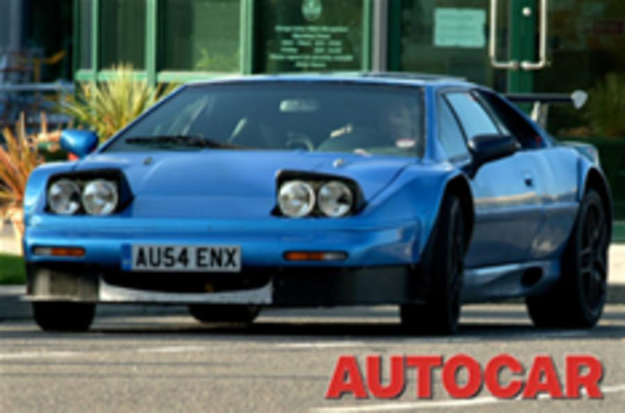 Lotus 'Eagle' GT: exclusive spy pictures