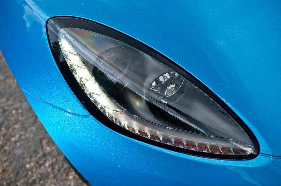 Lotus Elise headlight