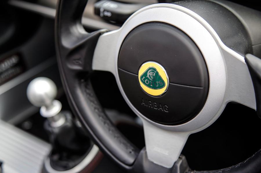 Lotus Elise steering wheel