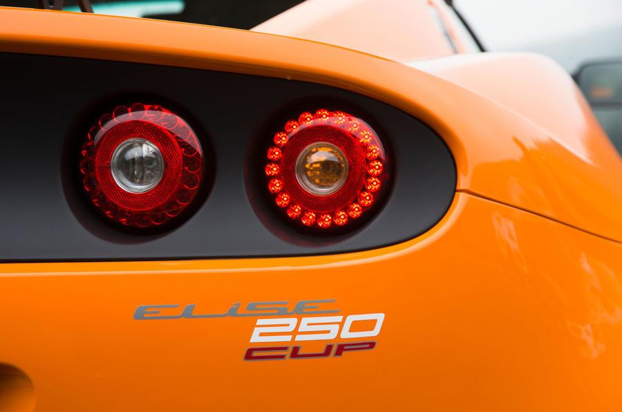 Lotus Elise Cup 250 rear lights