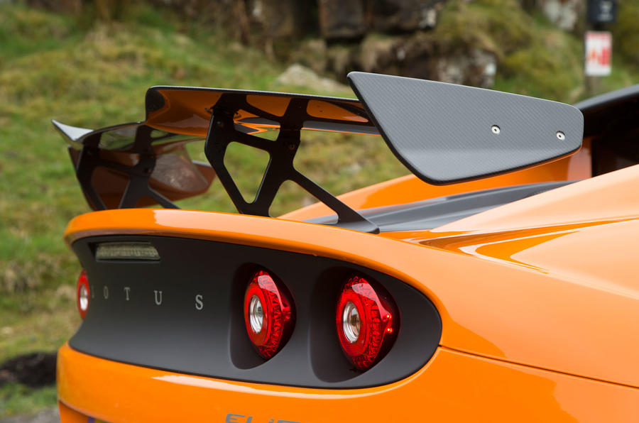 Lotus Elise Cup 250 rear wing