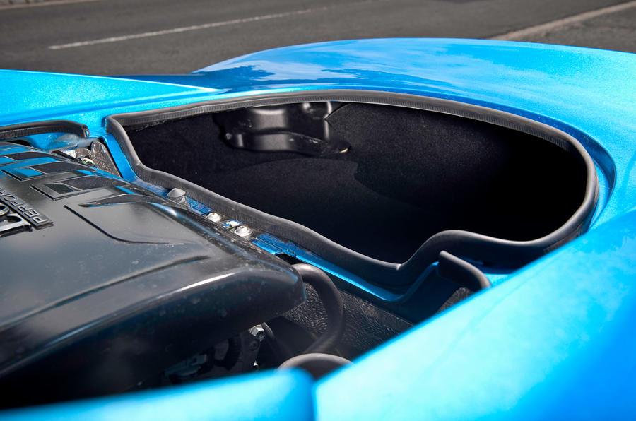 Lotus Elise boot space