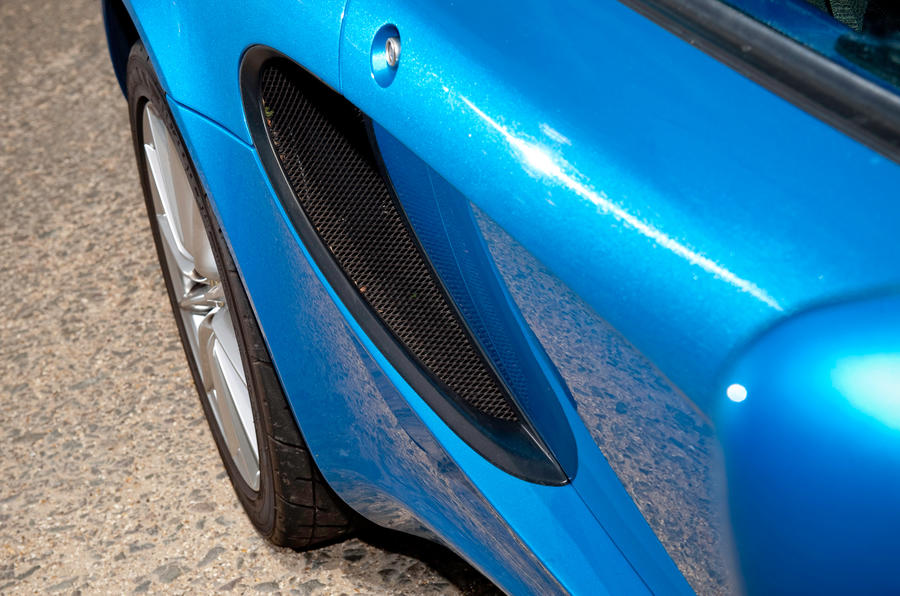 Lotus Elise side air vents