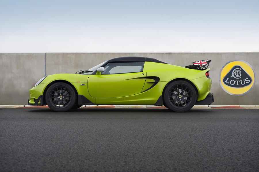 £43,500 Lotus Elise S Cup