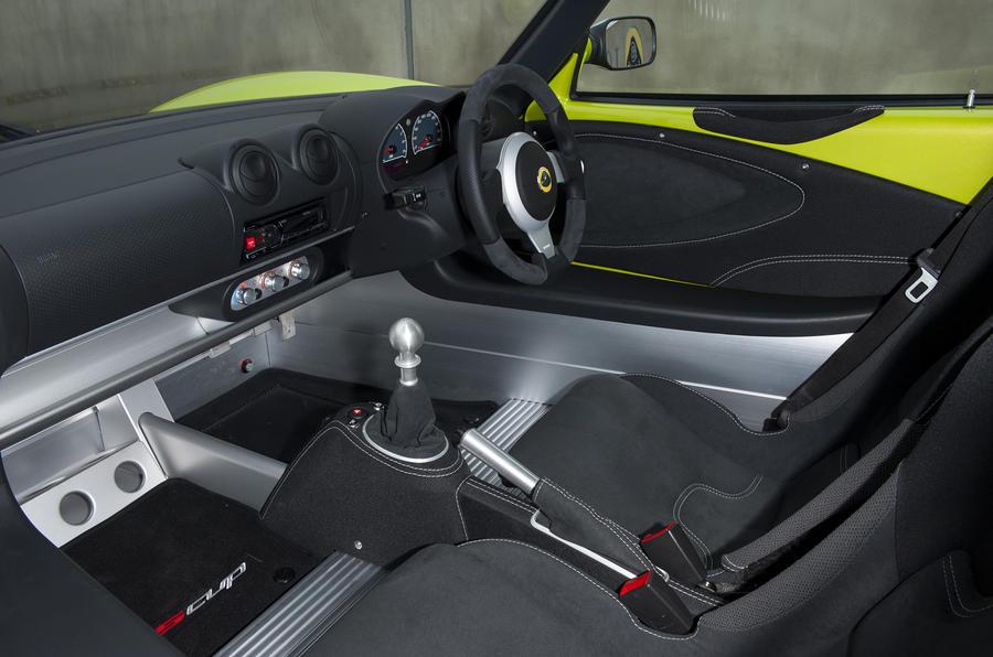 Lotus Elise S Cup interior