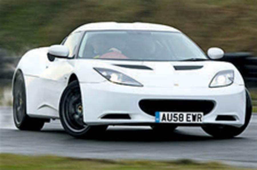 Blown Lotus Evora to get 350bhp