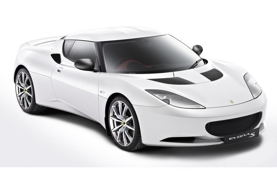 Paris motor show: Lotus Evora S