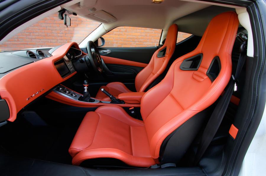 Lotus Evora sport seats