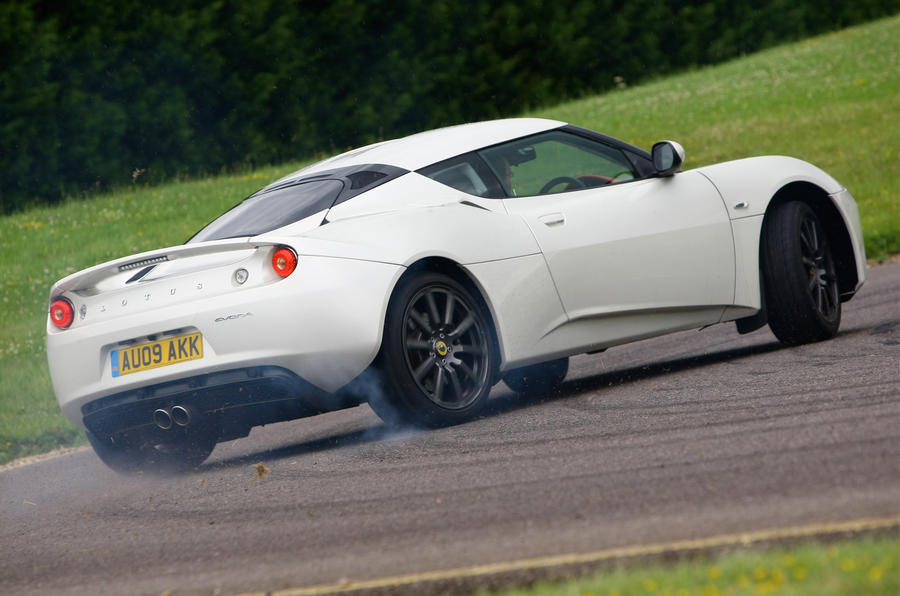 Lotus Evora rear cornering