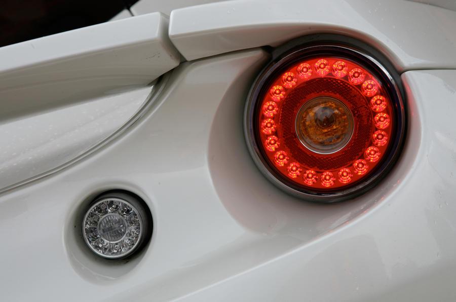 Lotus Evora rear lights