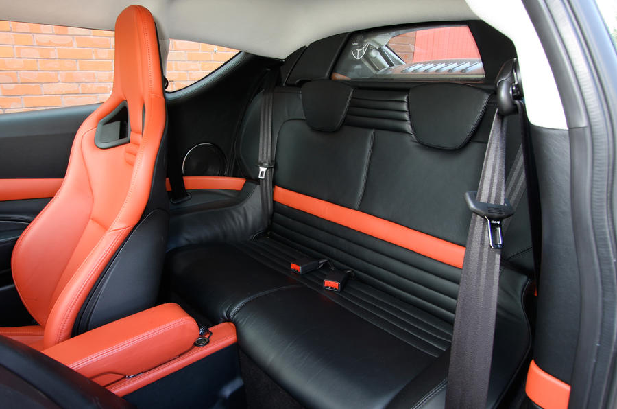 Lotus Evora rear seats
