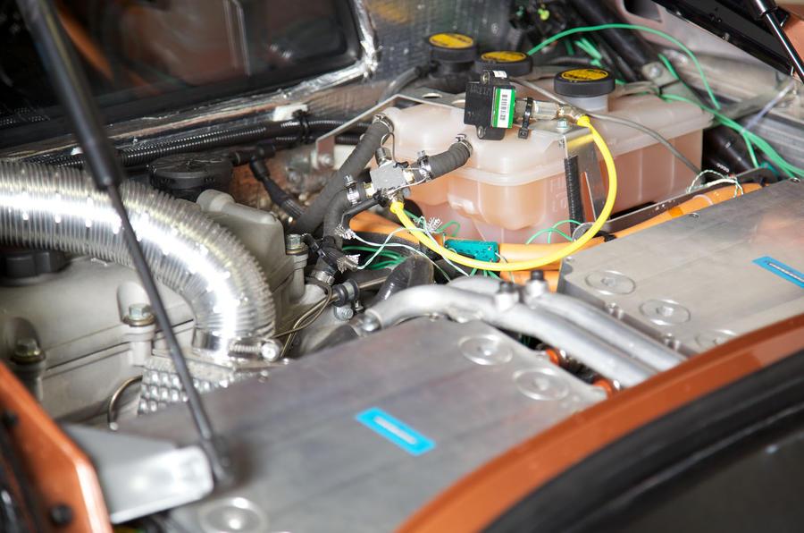 Lotus Evora 414E Hybrid gearbox