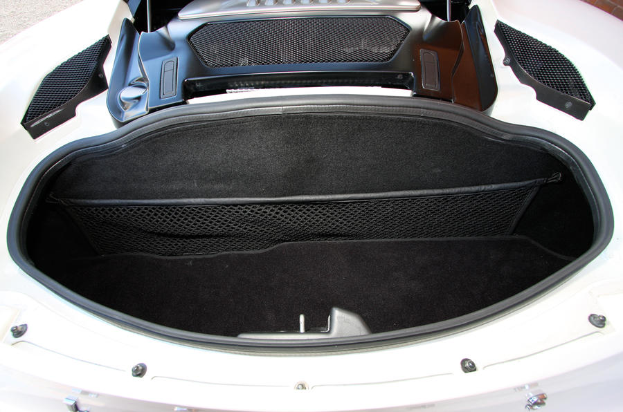 Lotus Evora boot space