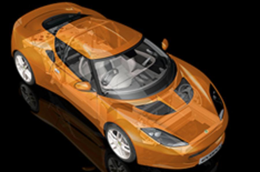 Evora cabrio will be a two-seater
