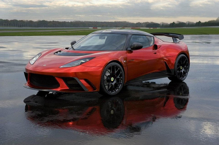Special Lotus Evora GTE revealed