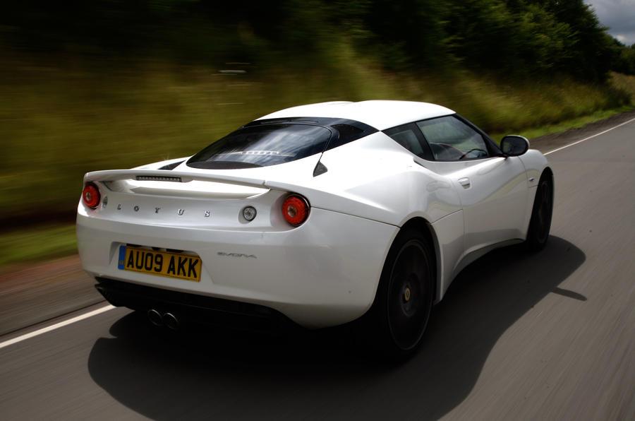 Lotus Evora rear quarter