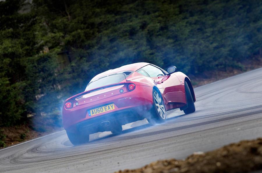 Lotus Evora S rear cornering