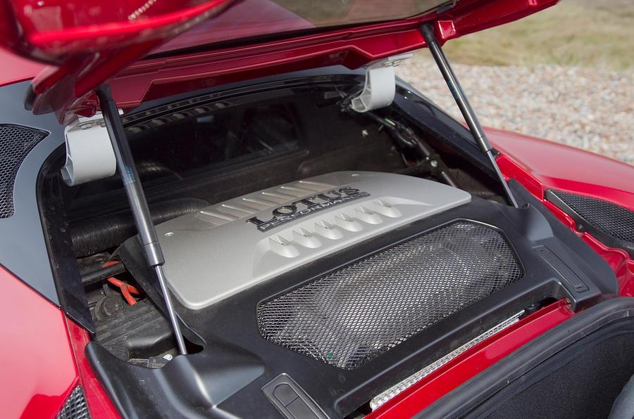 Lotus Evora S 3.5-litre V6 engine