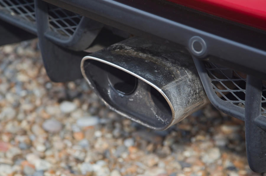 Lotus Evora S centre exhaust pipe