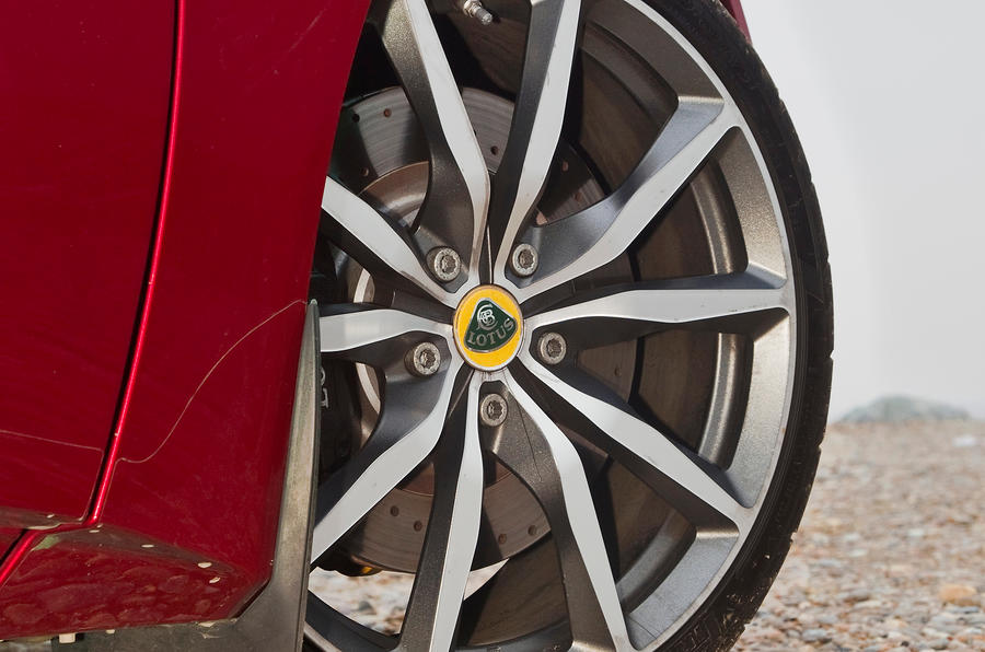 Lotus Evora S alloy wheel