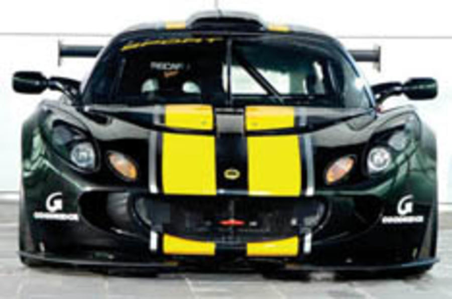 Hottest ever Exige hits the track