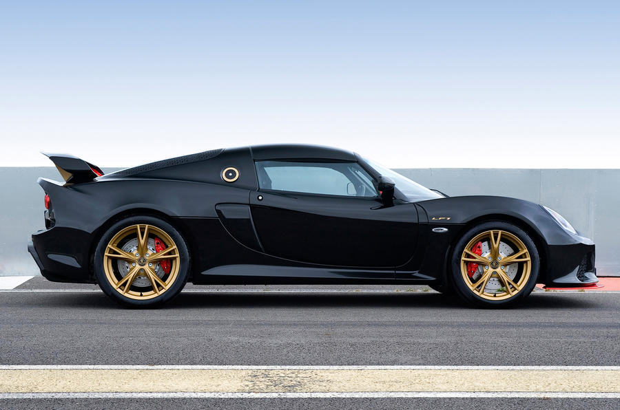 Limited-edition Lotus Exige LF1 revealed