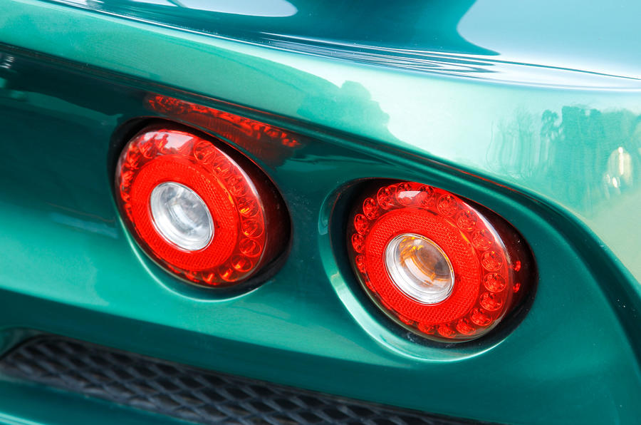 Lotus Exige S rear lights