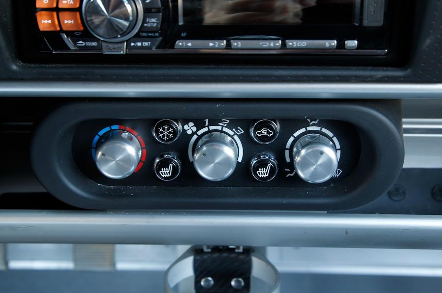 Lotus Exige S centre console