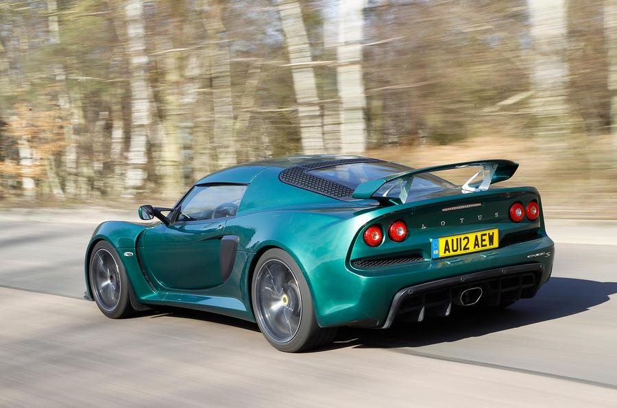 Lotus Exige S rear