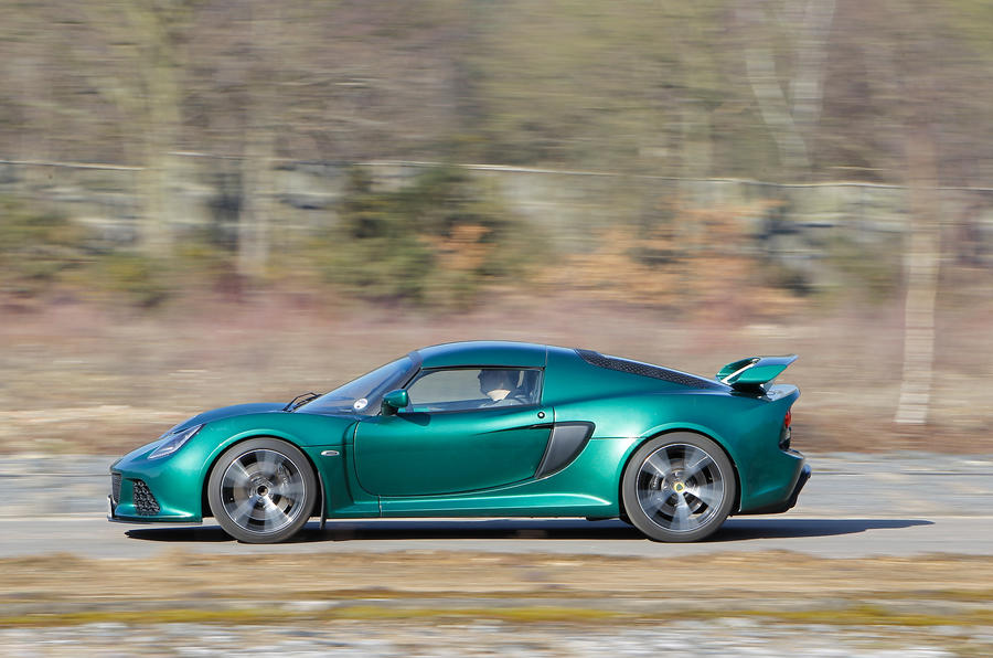 Lotus Exige S side profile