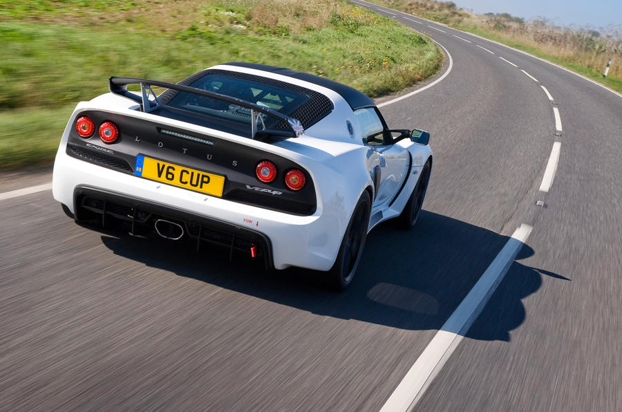 Exige V6 Cup rear cornering
