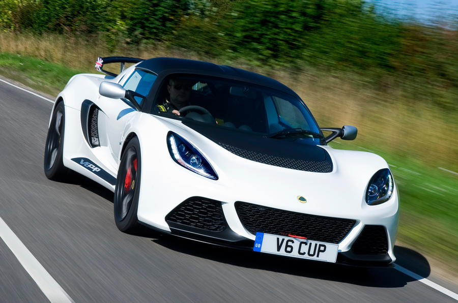 165mph Lotus Exige V6 Cup