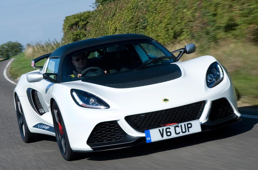 345bhp Lotus Exige V6 Cup