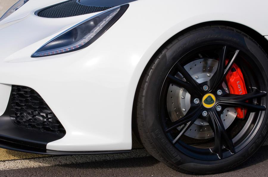 Lotus Exige V6 Cup alloys