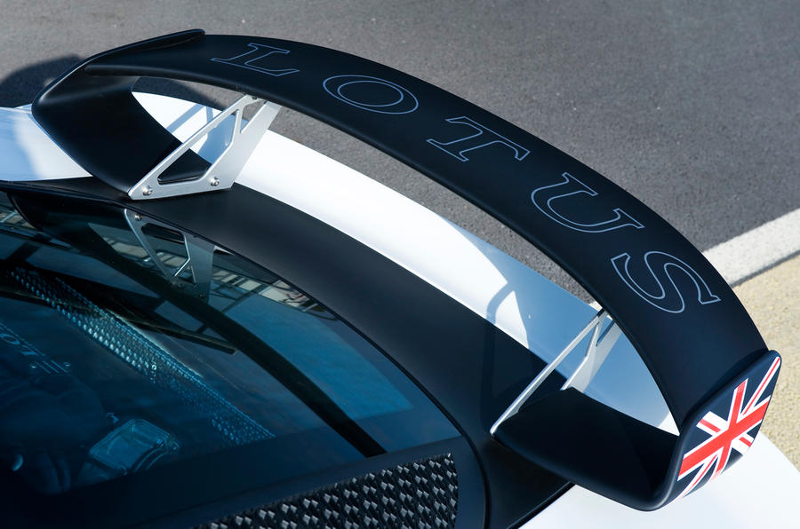 Lotus Exige V6 Cup rear wing