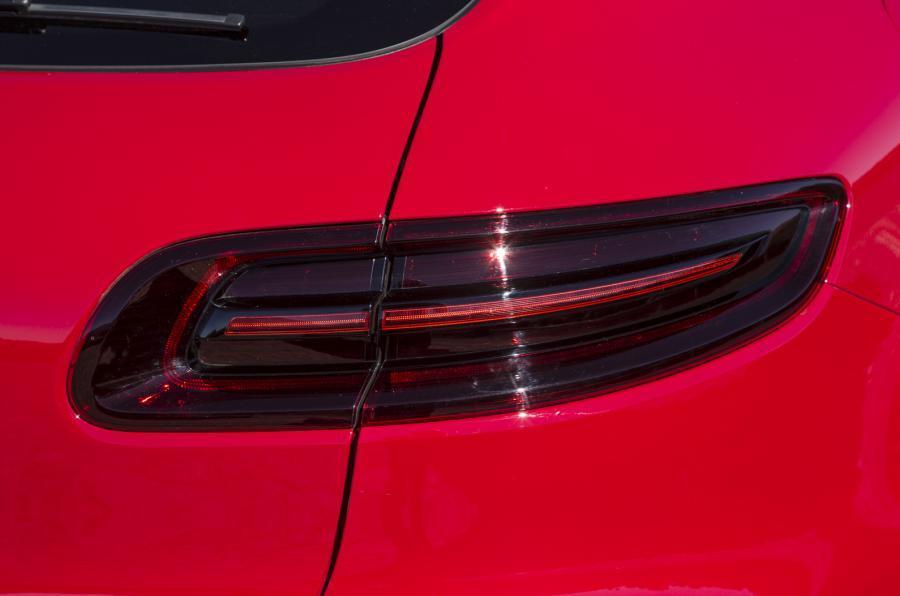 Porsche Macan GTS rear lights