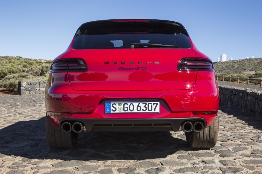 Porsche Macan GTS rear end