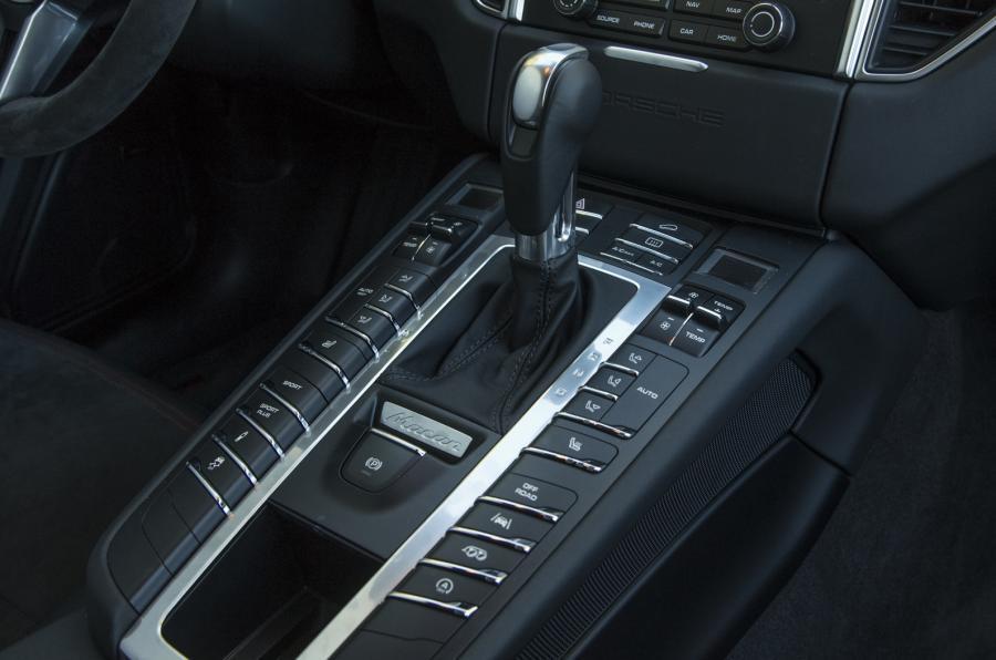 Porsche Macan GTS automatic gearbox
